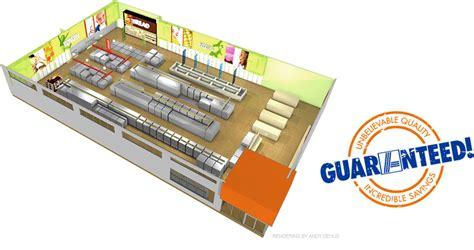 supermarket layout uk aldi