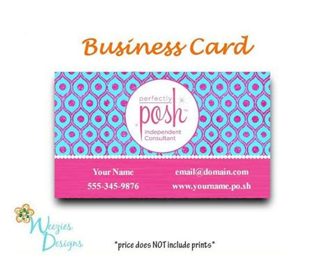 Perfectly Posh Business Cards