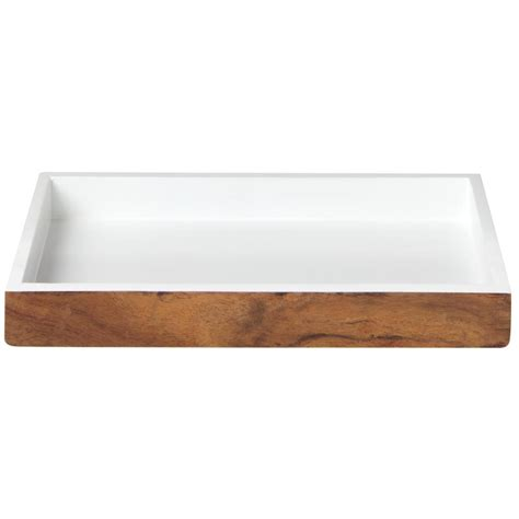 home decor tray home decorators collection hedland brown and white bath
