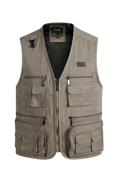 photography vest pattern new male casual vests men outdoor working vest mens multi
