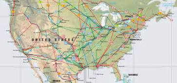 united states and map united states pipelines map crude petroleum