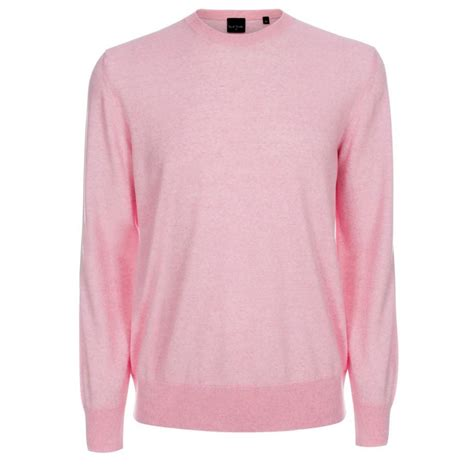 pink sweater paul smith light pink merino wool sweater in pink for