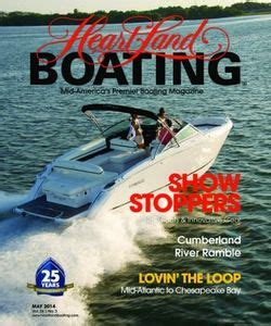 heartland boating magazine heartland boating magazine march april 2014 issue get