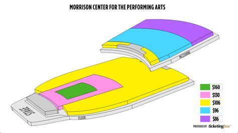 morrison center seating chart morrison center seating chart seating charts opera idaho