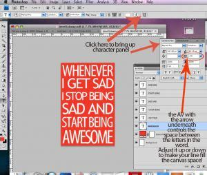 photoshop tutorial quote how to make subway art craft different quotes photoshop