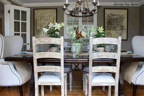 Dining Table Different End Chairs Decorating Your Dining Room Must Tips Driven By Decor