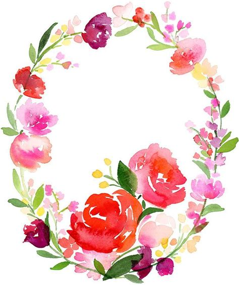 free painting no 21 best watercolor wreaths images on