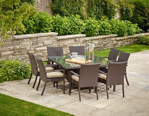costco outdoor patio furniture costco patio furniture gray rectangle wooden patio