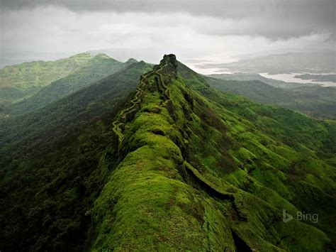 rajgad fort  punebing wallpapercom