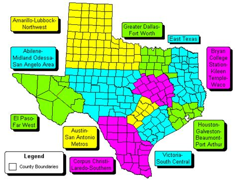 texas zip code map tx zip map