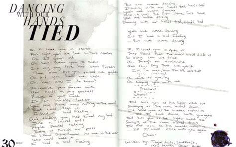 taylor swift dancing with our hands tied türkçe as 25 melhores ideias de lyrics taylor swift no pinterest