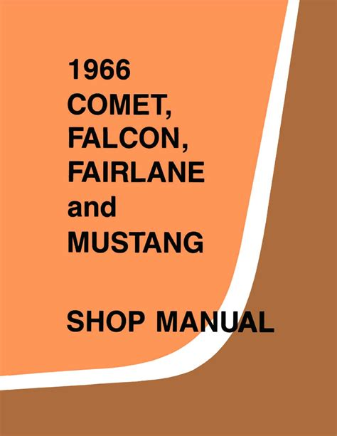 1966 ford small car service manual