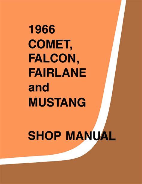 1966 ford small car service manual 1966 ford small car service manual