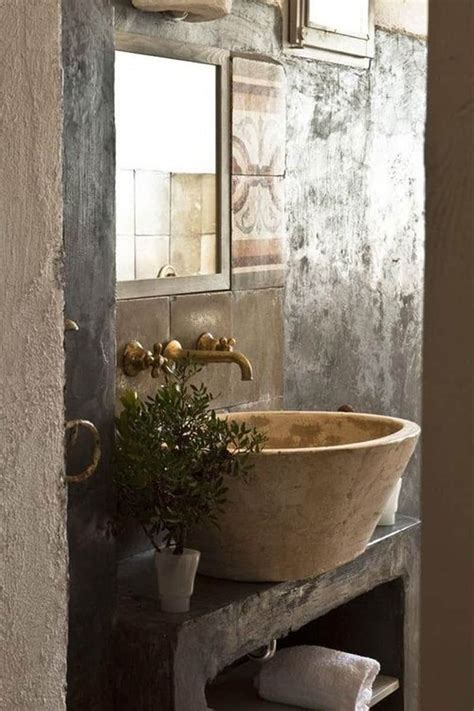 bathroom stone 18 cool natural stone sinks design ideas