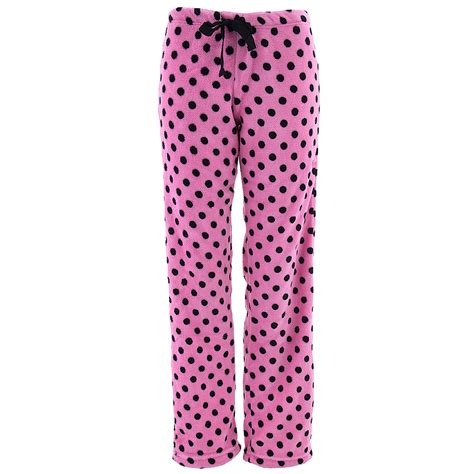 Pink Polkadots Shortpants Pajamas pink with black polka dots plush pajama for
