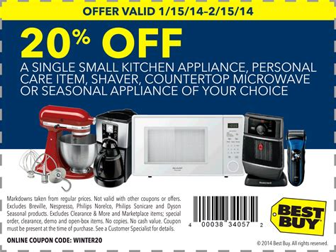 appliances kitchen appliances promo code best buy coupontopay jimmynoe best buy coupons 20 off a single small appliance at