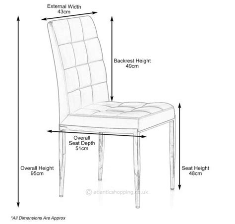 Size Of Dining Chair 8 Best Images About Architecture Standardsize On Table And Chairs Restaurant Tables