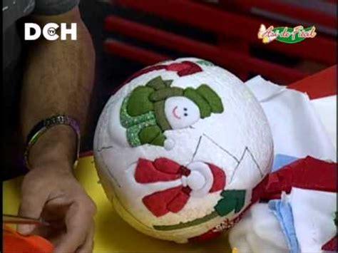 hugo rodriguez navidad esfera navide 241 a con t 233 cnica psa youtube