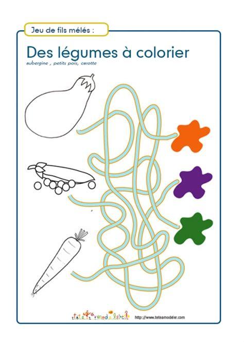 Jeux De Fil by Jeu De Fils M 233 L 233 S L 233 Gumes 224 Colorier N 176 1 Jeux T 234 Te 224 Modeler