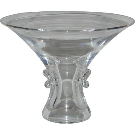 steuben barware signed steuben crystal bouquet vase from rubylane sold on