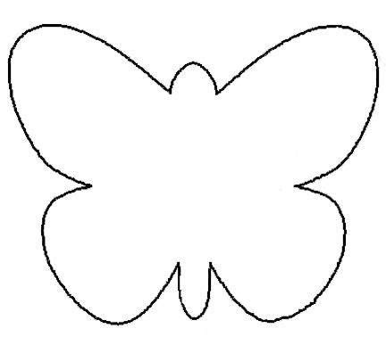 25 fresh paper crafts for spring coloring butterfly