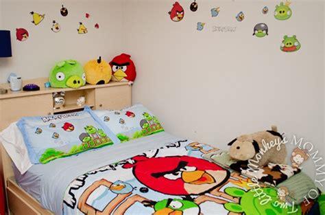 Dekorasi Lukisan Angry Bird kumpulan desain kamar tidur angry birds terbaru di 2016