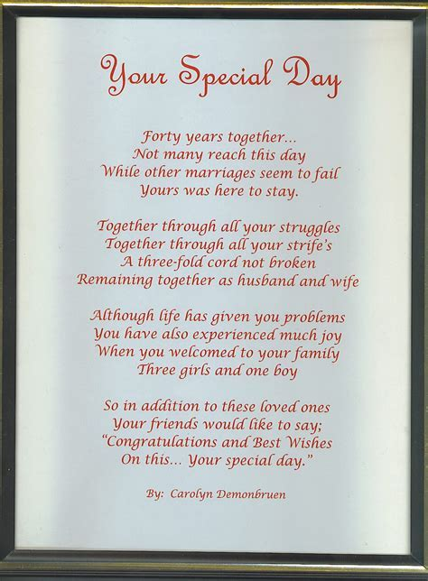 50TH WEDDING ANNIVERSARY QUOTES AND POEMS image quotes at