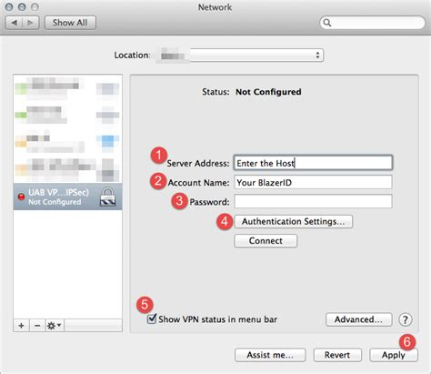 Uab Information Desk by How To Connect To Uab S Vpn Service Using A Mac S Built In