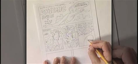 How To Make A Comic Book Out Of Paper - how to make your own comic book with bruce blitz 171 drawing