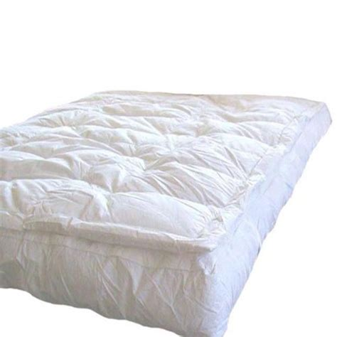 feather bed pillows marrikas pillow top goose down feather bed featherbed queen