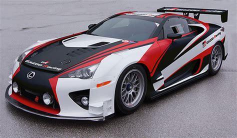 lexus racing car lexus lfa race car prepared by gazoo racing 100387986 l jpg