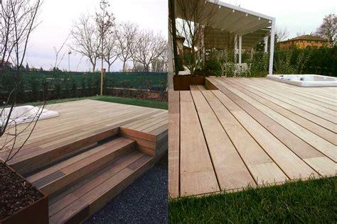 pavimento in legno per giardino fornitura posa in opera pavimenti in legno per esterni
