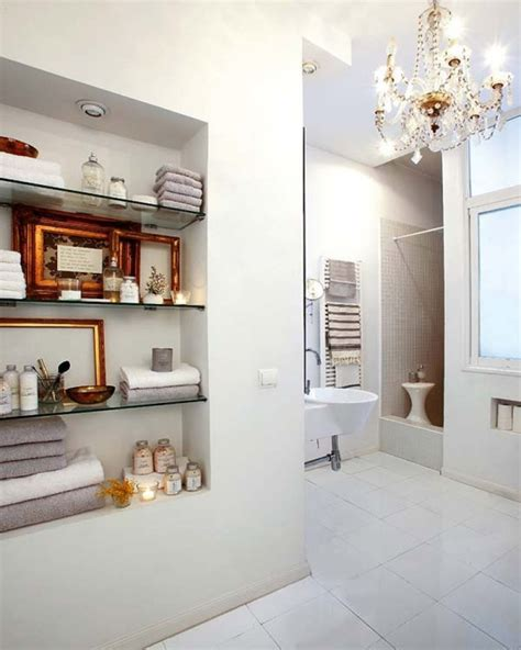 built in wall shelves bathroom top bathroom remodeling trends for 2015 2015 bath