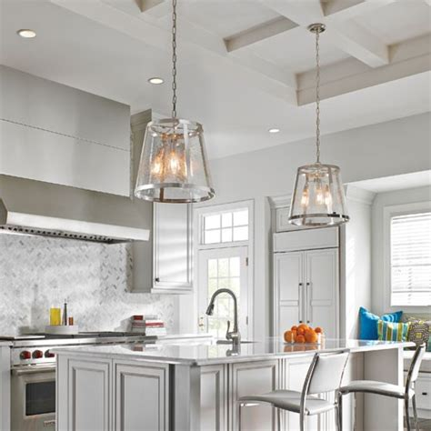 How To Choose Pendant Lights For A Kitchen Island Design Clear Glass Pendant Lights For Kitchen Island