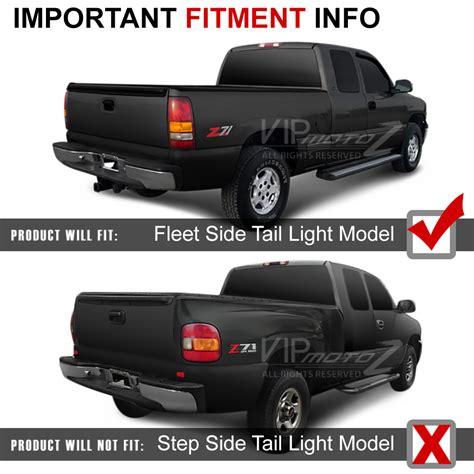 02 silverado lights 99 02 chevy silverado truck 1500 2500 3500 led smoke