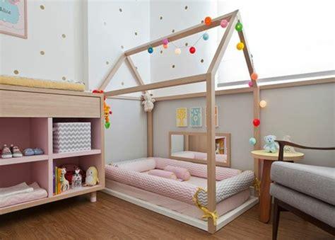 Lit Montessori by 1001 Id 233 Es Pour Am 233 Nager Une Chambre Montessori