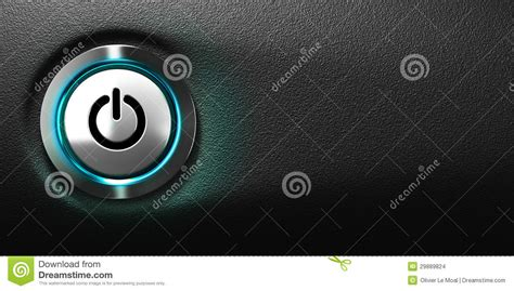 black power and light computer power button stock illustration image of