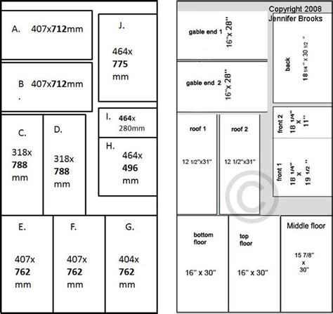 dollhouse floor plans build a doll s house