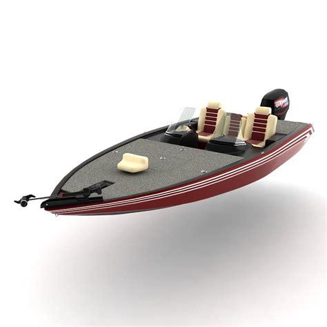 3d model bass boat - Bass Boat Models