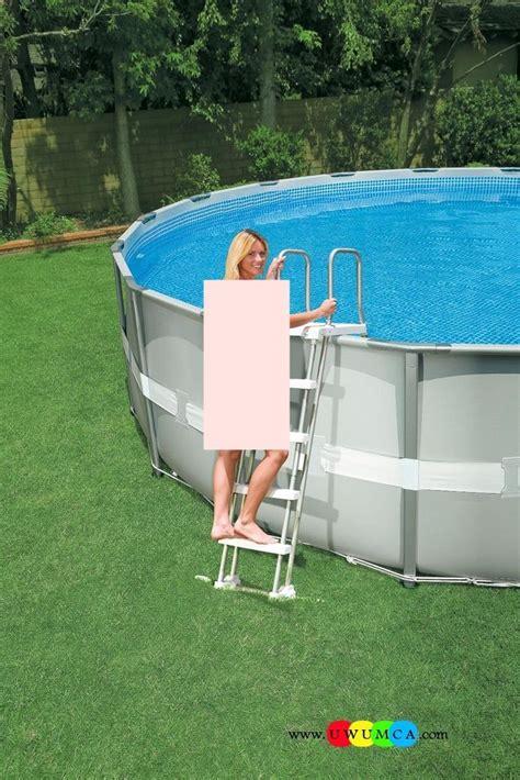 Above Ground Pool Ladder Mat - swimming pool swimming pool ladder pads above ground