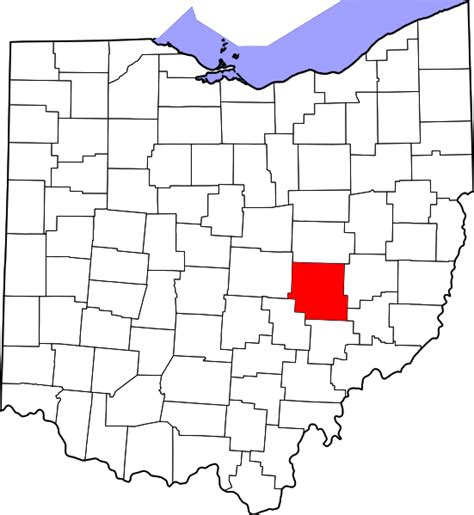Muskingum County Records File Map Of Ohio Highlighting Muskingum County Svg Wikimedia Commons