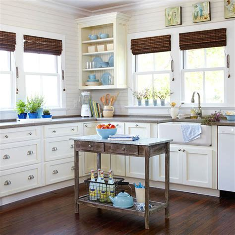 cottage style kitchen islands cottage style how to make it yours grace and