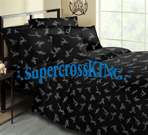 fox motocross bedding no fear motocross bedding queen