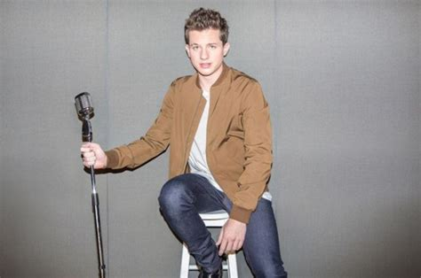 charlie puth jeans jacket charlie puth bomber jacket brown jeans wheretoget