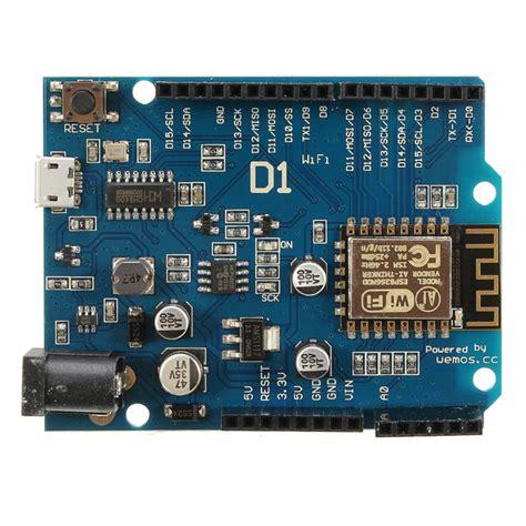 Wemos D1 Wifi Arduino Uno Esp8266 Wemos D1 Wifi Uno Esp 12e Based Esp8266 Shield For Arduino