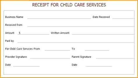 babysitting receipt template babysitting receipt template arbitragetradingbond club