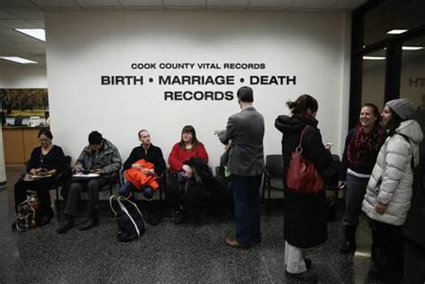 Chicago Marriage License Records Marriages Begin In Cook County Redeye Chicago