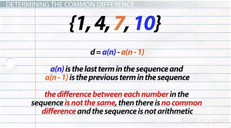 pattern sequence definition arithmetic sequence grade 11 extend arithmetic sequences