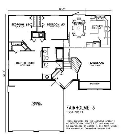 1300 square foot house deneschuk homes 13001400 home plans site