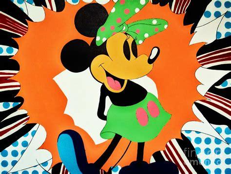 minnie mouse painting minnie mouse painting by grant swinney